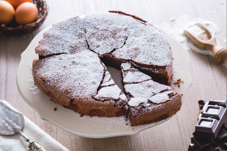 Torta tenerina (Moist  chocolate cake)