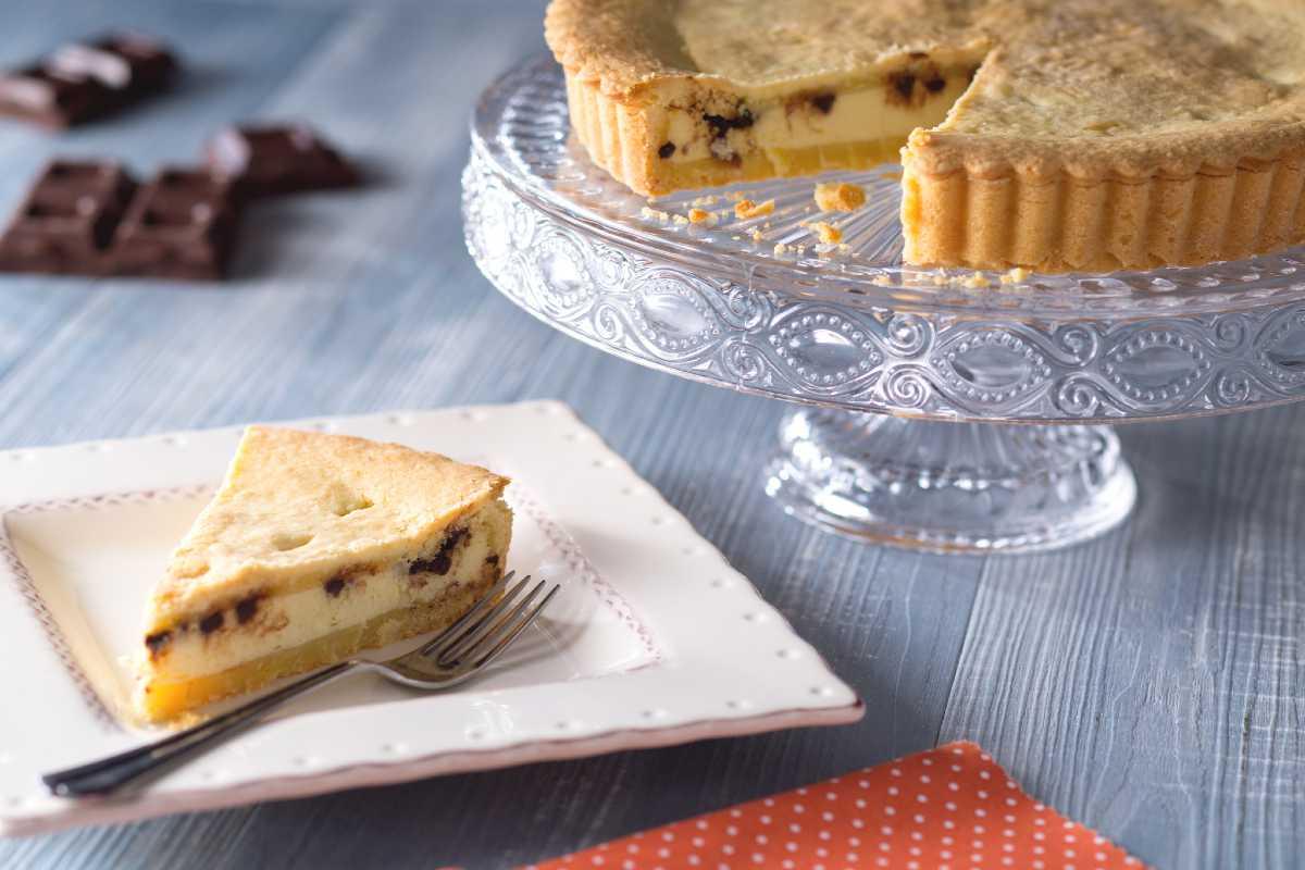 Ricotta Cheese Crostata (Tart)