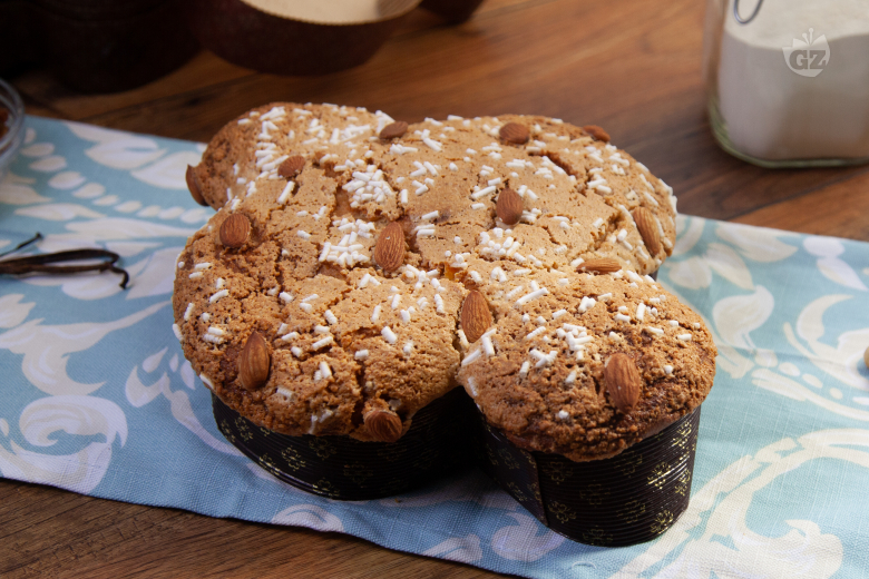 Quick Easter Colomba cake